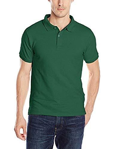 Izod Herren Poloshirt Uniform Young Short Sleeve Pique - Grün - Groß (Izod-uniformen)
