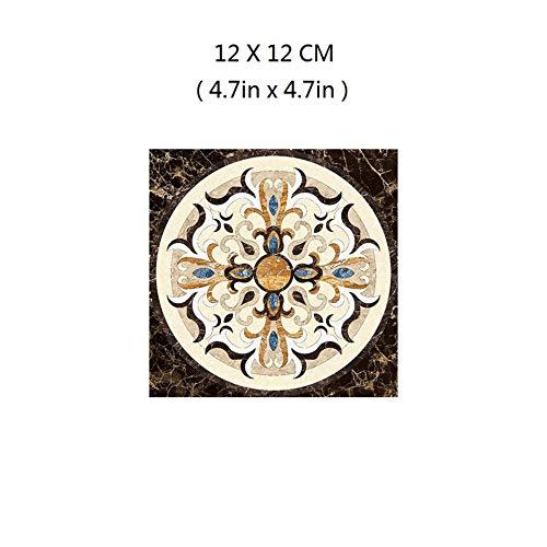 Fliesenaufkleber 3D Wandtattoo Diagonale Fliesenaufkleber, 12X12Cm / 30St Peel & Stick Wallpaper Decal Decoration For Bathroom Dinning Room Kitchen Hotel -