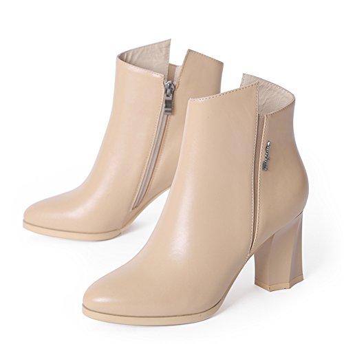Automne et hiver bottes/Simple en forme de bottes plate-forme épais/Martin bottes/ chaussures occasionnelles C