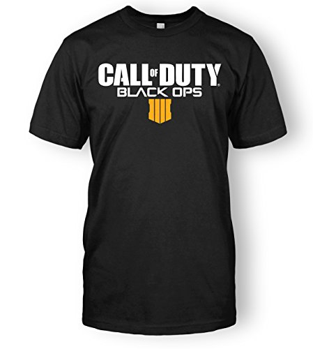 Limit Break Clothing Call of Duty Black Ops 4 Logo Top Tee (Small, Black) (Bekleidung Black Ops)