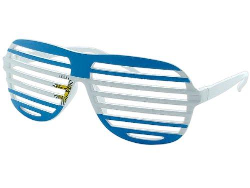 Südafrika Länderbrillen Fanbrille Flaggen Fahnen Brille viele Länder, Land:Argentinien