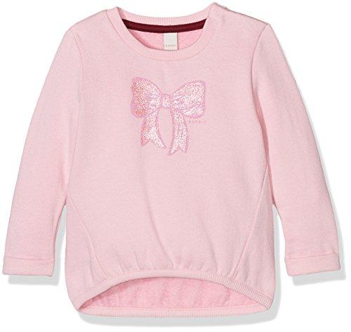 Esprit Kids Baby-Mädchen Sweatshirt Sweat Shirt, Rosa (Candy 300), 74
