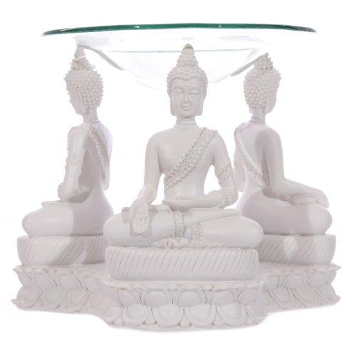 Puckator-BUD159-Thai-Oil-Burner-Buddha-Design-White-125-x-15-x-115-cm