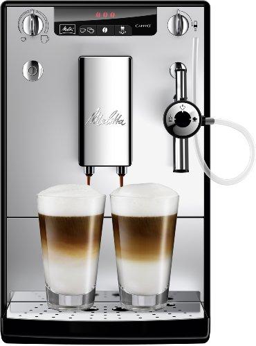 Melitta Caffeo Solo & Perfect Milk E957-103 Schlanker Kaffeevollautomat mit Auto-Cappuccinatore |...