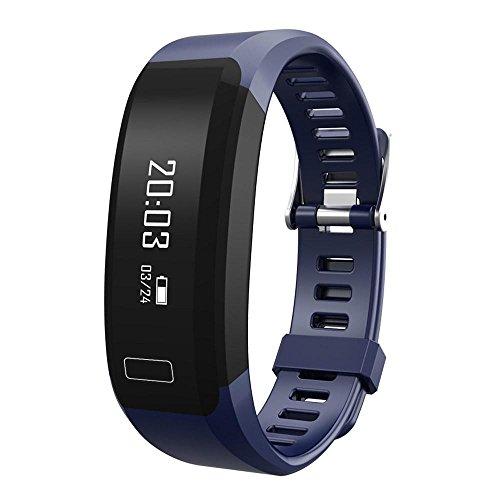 Lange Meter 10 Ladegerät 6 Iphone (Smart Fitness H28 Armband Aktivitäts-Tracker Armband für Android iOS Smartphone halte dich fern von der Untergesundheit , blue)