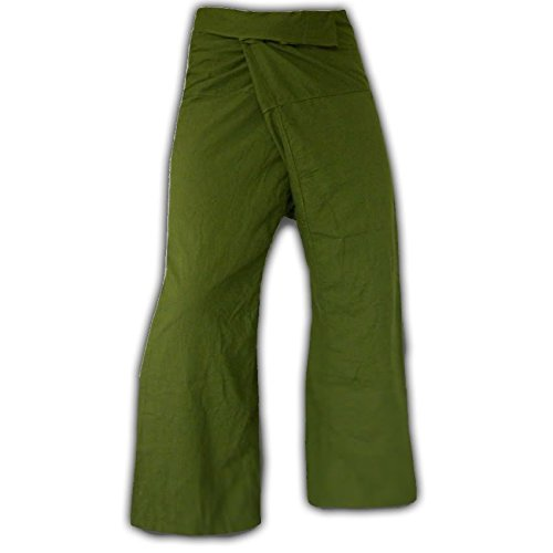 Panasiam Thai Fisherman Hose , Gr�n , XL