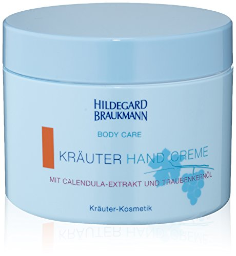 Hildegard Braukmann Body Care femme/women, Kräuter Hand Creme, 1er Pack (1 x 200 ml) - Kräuter-creme