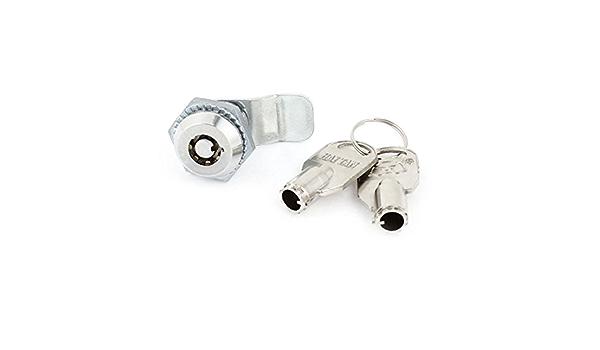 Aexit Serratura a chiave tubolare con chiave a camme armadio armadietto macchina armadietto w 2 chiavi ID 455946