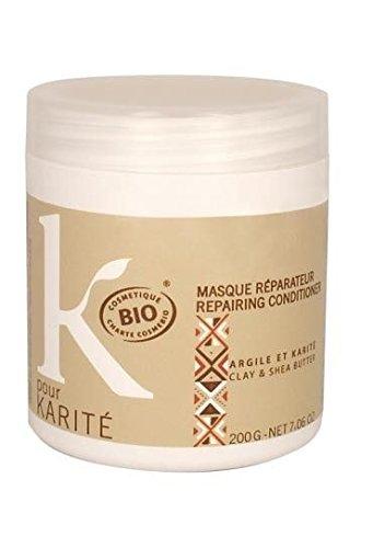 K pour Karité Masque Femme Réparateur Bio 200 g