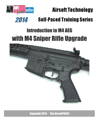2014 Airsoft Technology Self-Paced Training Series Introduction to M4 AEG with M4 Sniper Rifle Upgrade: Learn the mainstream V2 based M4 architecture. ... and the new APS Hybrid/Silver Edge gearbox. -