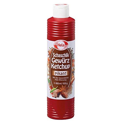 Hela Schaschlik Gewürzketchup, 4er Pack (4 x 800 ml)