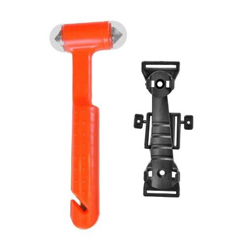 Pro-Plus Nothammer Notfallhammer Notfall Hammer Gurtschneider Sicherheitshammer Sicherheit in Halterung
