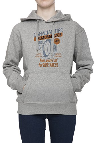 canadian-tire-premium-service-damen-grau-kapuzenpullover-jumper-sweatshirt-womens-grey-hoodie-jumper