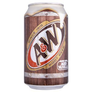A&W Root Beer x 1 Can