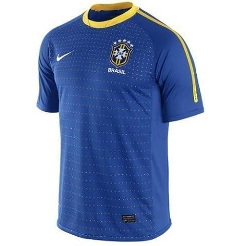 Nike Brasilien Away Jersey WM 2010 varsity royal - S