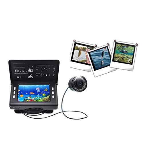 Maple Leaf Tragbarer 3,5-Zoll-Fischdetektor - Wasserdichte Hd-Ibobber-Fischen-Kamera 8 Arten von geführtem Infrarot können für EIS-, See- und Bootsfischen verwendet Werden
