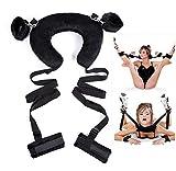 Manette SM Per Coppie, Maschi e Femmine Sexy Adult Bundle Binding Confortevole e resistente regalo di San Valentino fetish.