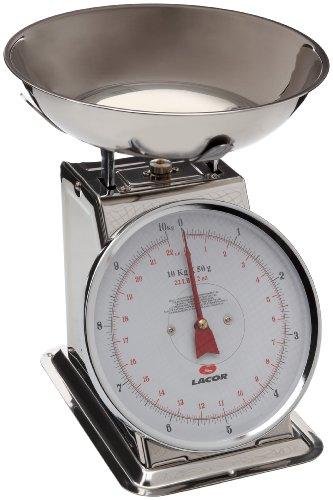 Lacor-61710- Bilancia da cucina con ciotola 10 kg