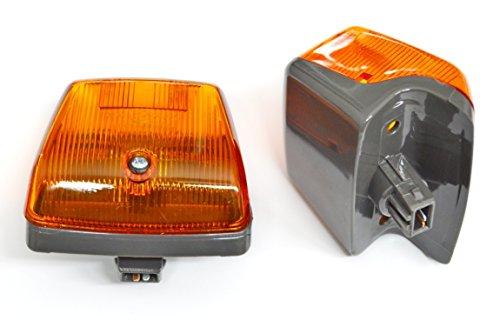 Preisvergleich Produktbild 2 x Kontrollleuchten Seite Repeater Rechte + linke Seite für Mercedes Atego I / II LH / RH CE-geprüften E4 gekennzeichnet