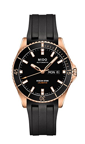 MIDO MEN'S OCEAN STAR CAPTAIN V 42.5MM AUTOMATIC WATCH M026.430.37.051.00
