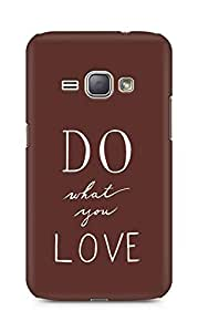AMEZ do what you love Back Cover For Samsung Galaxy J1 (2016 EDITION)