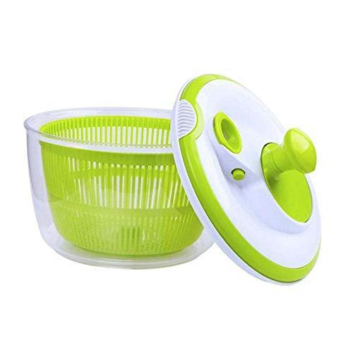 Vert OVOS Essoreuse /à Salade Grande Taille 5 litres Essoreuse pour Fruits et l/égumes faciles /à pr/éparer Design /à s/échage Rapide sans BPA