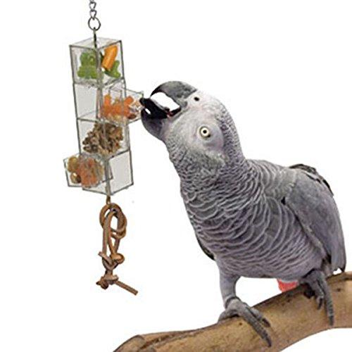 HappyBird HÄNGE FUTTOMAT XTRA mit 2 Schubladen und 2 Öffnungen für Papageien (Schublade Hängen 2)