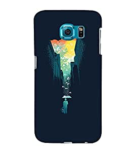 Fuson Premium Back Case Cover Designed Sky with Multi Background Degined for Samsung Galaxy S6 Edge+ G928::Samsung Galaxy S6 Edge Plus G928F