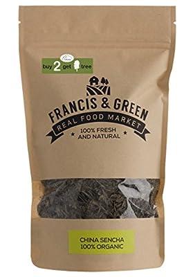 Francis & Green - Thé Vert BIO de Sencha en vrac, 170g