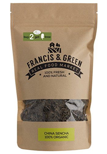 Organic China Sencha Loose Leaf Green Tea - Francis & Green, 150g