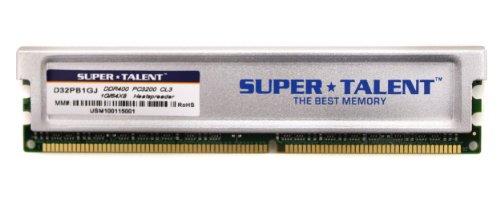 Super Talent D32PB1GJ Arbeitsspeicher 1GB (400 MHz, CL3) DDR1-RAM -