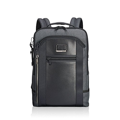 "Tumi Alpha Bravo - Davis Laptop Backpack 15"" Zaino Casual, 42 cm, 11.87 liters, Grigio (Anthracite)"