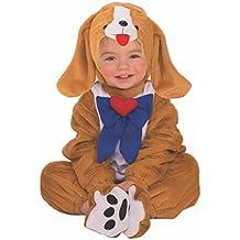 Rubies - Disfraz infantil de perro para niño, bebé 1-2 años (Rubies
