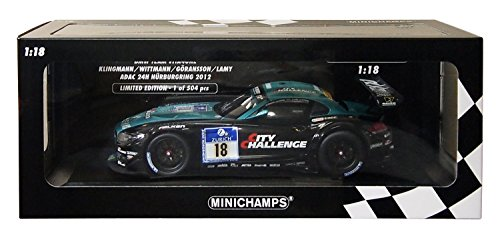 Minichamps 1:18 Scale 2012 BMW Z4 GT3 Team Vita4one for sale  Delivered anywhere in UK