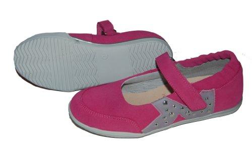Helgas Modewelt , Chaussures de ville à lacets pour fille Rose - pink (Turino ciclamino)