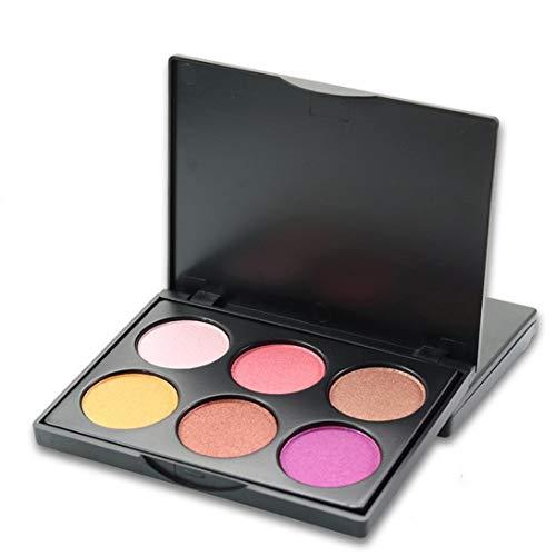 WYXlink 2017 Fashion Cosmetic Matt eyeshadow Cream makeup Palette Schimmer Set 6 Farben eyeshadow (C) -