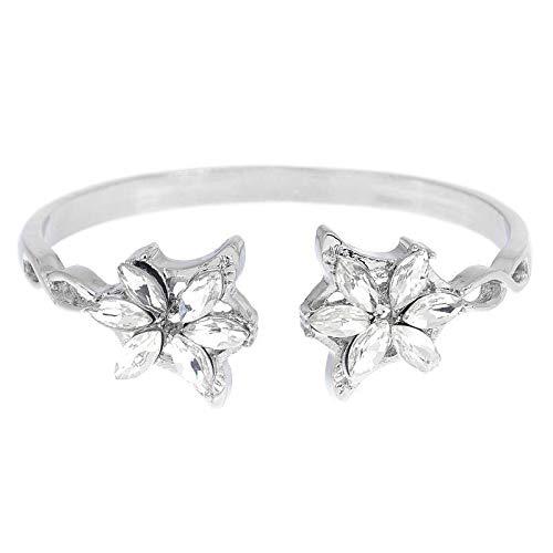 SHOULIANSL Armbänder Vintage Kristall Blume Armreif Armband Arwen Evenstar Manschette Bangles Frauen Mode Schmuck