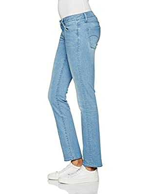 G-Star RAW Women's 3301 Deconst Mid Straight Jeans