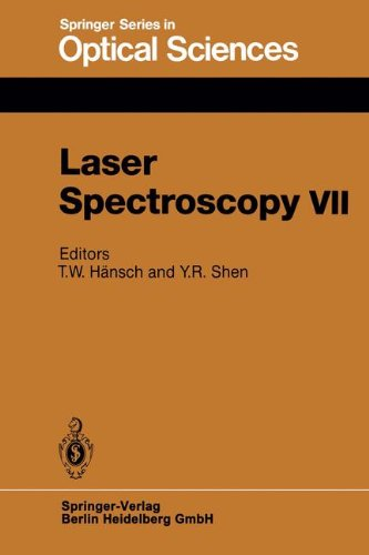 Laser Spectroscopy VII: Proceedings of the Seventh International Conference, Hawaii, June 24-28, 1985 (Springer Series in Optical Sciences, Band 49) (Hawaii Laser)