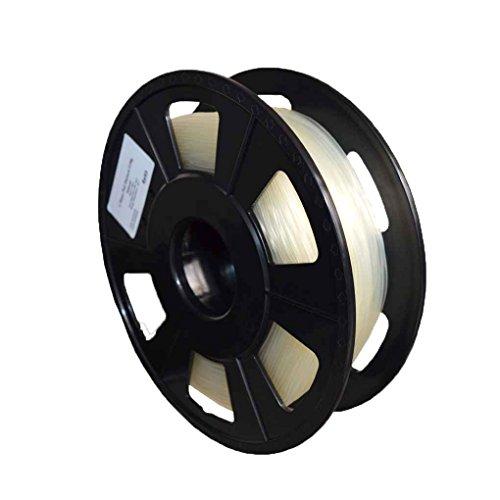 Masterein L'eau PVA dissolvable 1.75mm 3D filament 0.5KG bobines impression 3D consommables pour les imprimantes à double buse blanc