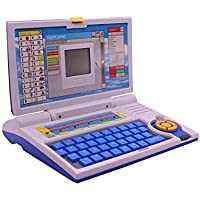 Techno Buzz Deal Kids Fun English Learner Educational Laptop for 20 Fun Activities Enhanced Skills of Children Premium Quality Kids Educational Purpose for Boy & Girls Best English Learner Laptop