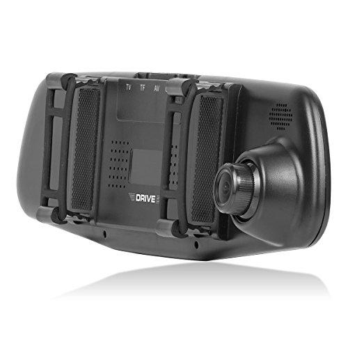 GOCLEVER SAFEGO HD Schwarz - Dashcams (HD, 1280 x 720 Pixel, 5 MP, 6 m, Schwarz, TFT)