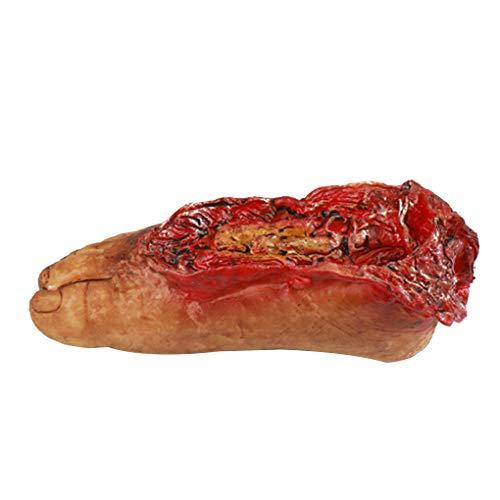 Bobury Blut Gebrochene Hand-Fuß mit Seil Horror Halloween -