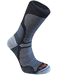 BridgedaleMen's WoolFusion® Trail Ultra Light Socks  - Black, UK 6-8.5