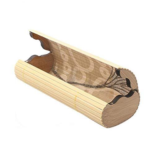 YUEKAIHU Männer Frauen Bambus Holz Sonnenbrille Box Handgefertigten Rahmen Brillenetui