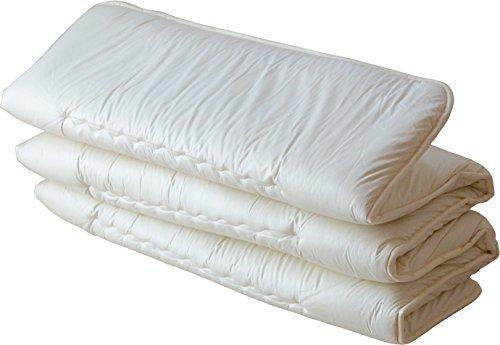 Emoor, Traditionelle japanische Matratze, Futon-Matratze 6-fach, für Einzelbett, Made in Japan