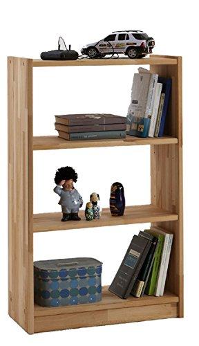 Möbel Roslev A / S Regal Kernbuche vollmassiv gewachst Standregal Raumteiler Bücherregal