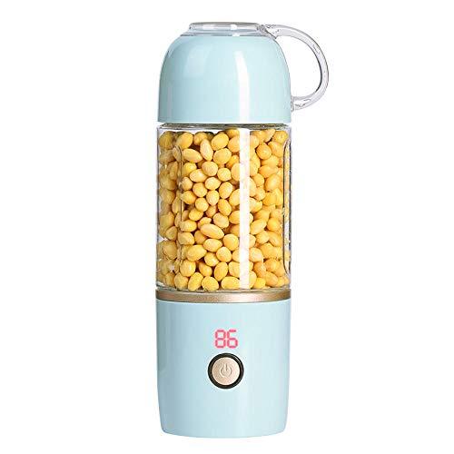 Fpxnbone frullatore frullati smoothie maker,display digitale tazza di succo elettrico, macchina per il succo ricaricabile usb-blu a,ricaricabile usb mini frullatore di frutta