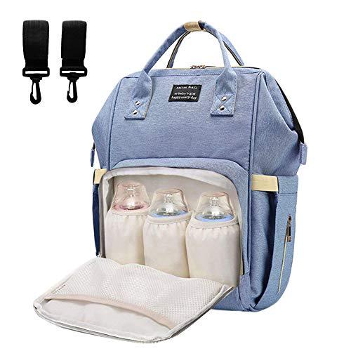 Neonato fasciatoio bambino borsa nappy stoffa, oxford grande capacità viaggiare zaino per mamma papà