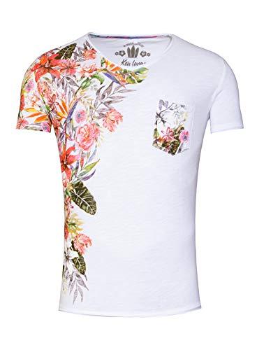 Key Largo Herren T-Shirt MT Babylon Weiss (10) L (Für Männer Key-jeans)